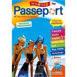 Passeport Toutes les matières De la 6ème à la 5ème ( 9782017865339 )