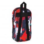 Plumier mochila con 4 portatodos llenos Blackfit8 Geometric 33 Piezas