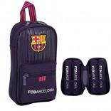 Plumier mochila con 4 portatodos llenos FC Barcelona 33 Piezas