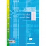 Recambio Hojas Sueltas Séyès A4 (21x29,7 cm) 300 páginas
